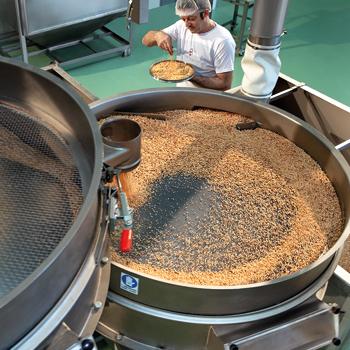 lavorazioni granella di nocciole
